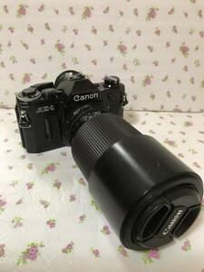 名機 CANON AEー1 FD 70ー210mm f4 付 美品