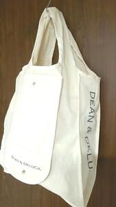 DEAN & DELUCA ショッピングトートバッグ ナチュラル