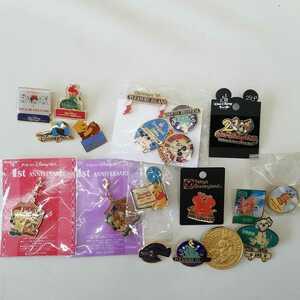 東京ディズニーランド ディズニーシー ピンバッジ ピンズ ストラップ ハニーハント ミクロアドベンチャー 1st ANNIVERSARY 非売品