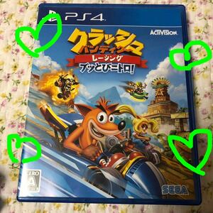 【PS4】 クラッシュ・バンディクーレーシング ブッとびニトロ! PS4