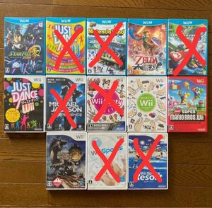 WiiU&Wiiソフト6本セット