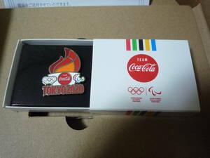 東京オリンピック2020  コカ・コーラ  ピンバッジ 聖火 記念ピン