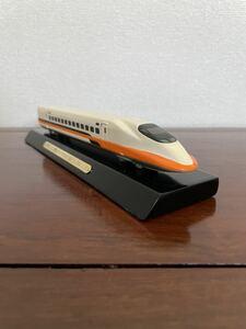 [ railroad model ] not for sale Taiwan Shinkansen 700T souvenir together Taiwan south north high speed ..700T type row car .. memory . car .. memory Taiwan height iron