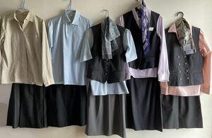 激レア コスプレ NTT docomo ドコモショップ 制服 セット 衣装 一式 スカート ネームプレート OL ブラウス ショップ 店員 ハロウィン