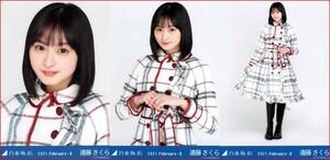 乃木坂46 遠藤さくら スペシャル衣装29 2021年2月ランダム生写真 3種コンプ 3枚 3枚コンプ