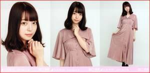 乃木坂46 阪口珠美 サテンワンピ 2020年4月ランダム生写真 3種コンプ 3枚 3枚コンプ