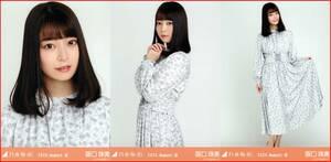乃木坂46 阪口珠美 フラワープリント 2020年8月ランダム生写真 3種コンプ 3枚 3枚コンプ