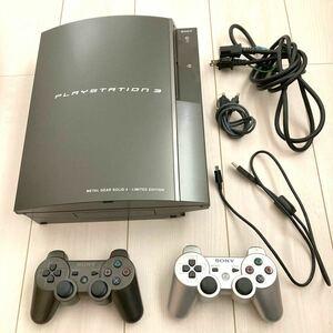 【ジャンク】SONY PS3 CECHL00 メタルギアソリッド4 リミテッド エディション