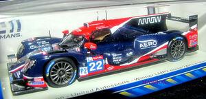 【Ma】SP☆1/43 S7963 Oreca 07 - Gibson No.22 United Autosports - Winner LMP2 class 24H Le Mans 2020F. Albuquerque - P. di Resta -