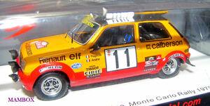 【Ma】SP☆1/43 S6038 ルノーRenault 5 Alpine No.11 Monte Carlo Rally 1979Jean Ragnotti - Jean-Marc Andrie