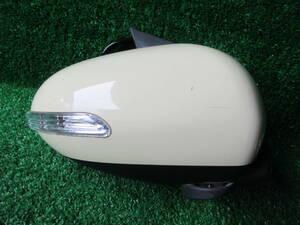 W41 動作確認済◆ミラ(L275S)LEDウインカードアミラー右[T19]◆