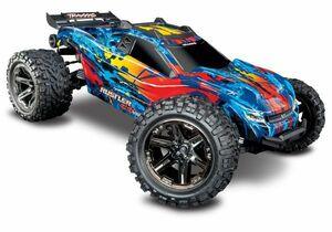 TRAXXAS トラクサス ラストラー Rustler 4X4 VXLラスラー 4X4 VXL スタジアム トラック 4WD Rustler 4X4 VXL (67076-4)Action (Red)