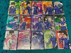 ブルーロック 全巻セット 1〜15巻セット ポストカード全種類