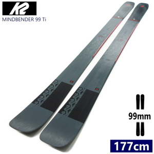 ◆[177cm/99mm]21 K2 MINDBENDER 99 TI フリースキー板