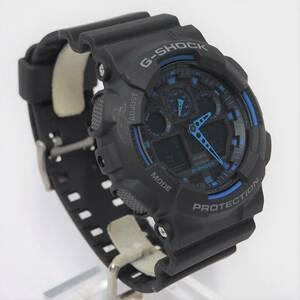 CASIO G-SHOCK GA-100-1A2 海外モデル メンズ 腕時計 多機能 防水 カジュアル アナデジ ビックフェイス カシオ Gショック ジーショック