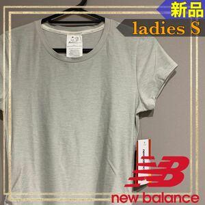 new balanceニューバランス 半袖トレーニングTシャツ レディースS新品