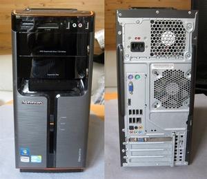 箱#D852 lenovo IdeaCentre K320 デスクトップ Intel Core i5 750 2.67GHz win10