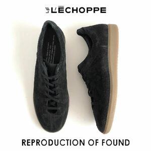 新品 REPRODUCTION OF FOUND × L'ECHOPPE 別注 IN SIDE OUT ジャーマントレーナー 43 Black リプロダクションオブファウンド レショップ