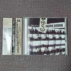 3 Doors Down - The Better Life 国内盤 帯つき Three doors down スリー・ドアーズ・ダウン 送料無料 即決 迅速発送