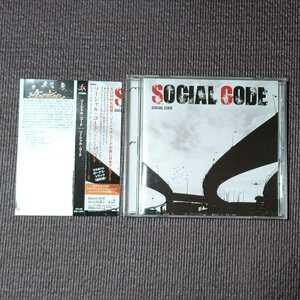 SOCIAL CODE - SOCIAL CODE 国内盤 帯つき ソーシャル・コード 送料無料 即決 迅速発送