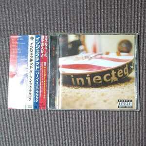 INJECTED - Burn It Black 国内盤 帯つき インジェクテッド 送料無料 即決 迅速発送
