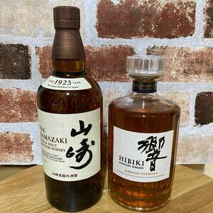 サントリー山崎&響ウイスキー