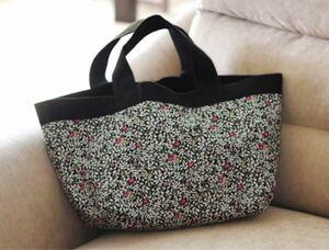 手芸キット【お気に入りのデイリーバッグ】2wayバッグ ソーイング 花柄 清原 日本製 新品 ハンドメイドバッグ 手作りバッグ