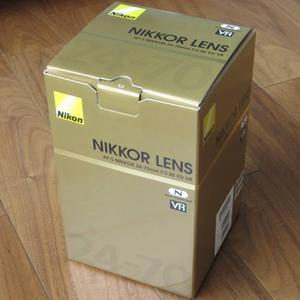 【 新品未使用 】Nikon ニコン ニッコール AF-S NIKKOR 24-70mm F2.8E ED VR