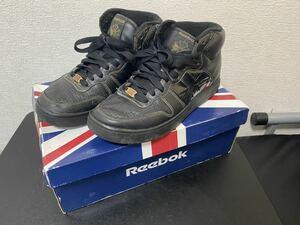 Reebok classic スニーカー 27cm ブラックゴールド EZAMANIKE BLACK ナイキ エアージョーダン1 ナイキエアジョーダン AIR JORDAN HIGH