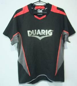 DUARIG デュアリグ フットサルウェア 半袖Tシャツ ブラック Mサイズ メンズ 01