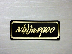 E-21-3 送料無料 Ninja1000 黒/金 オリジナルステッカー タンク テールカウル サイドカバー カスタム 外装 等に ニンジャ1000