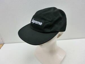 my/369625/2108/シュプリーム Supreme ロゴ キャップ 帽子/ブラック