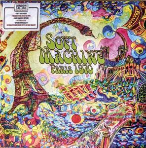 Soft Machine ソフト・マシーン - Paris 1970 手書き番号入り限定二枚組スプラッター・カラー・アナログ・レコード