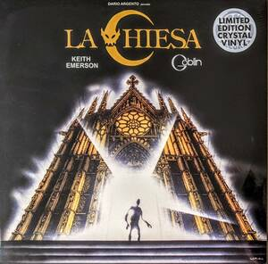 Keith Emerson キース・エマーソン / Goblin ゴブリン - La Chiesa 限定リマスター・クリアー・カラー・アナログ・レコード