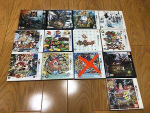 3DSソフト 12本まとめ売り! *バラ売り可!