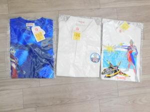 2 ウルトラマンティガ 新品 レア 半袖Tシャツ・半袖ポロシャツ3点セット100:福袋