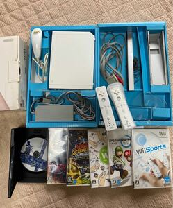 任天堂 Wii本体 ゲームソフトセット