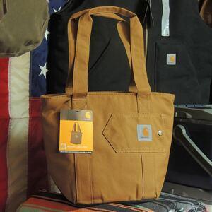 USAカーハートCARHARTTランチトート☆ソフトクーラー保冷バッグ クーラーバッグ アウトドア 旅行 レジャー ピクニック