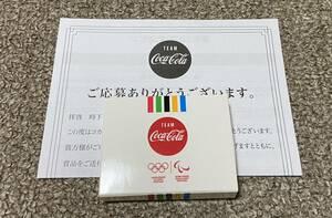 コカコーラ 東京 2020 オリンピック 記念ピンバッジ オリンピックスタジアム 未使用品