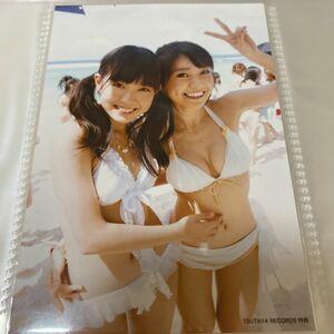 AKB48 真夏のsounds good TSUTAYA 店舗特典 生写真 渡辺美優紀 大島優子 みるきー NMB48 蔦屋 ツタヤ 水着 ビキニ