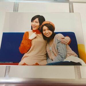 AKB48 So long! HMV/LAWSON 店舗特典 生写真 松井珠理奈 大島優子 ローソン SKE48