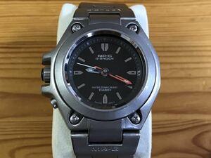 美品 稼働品 ライト点灯 Titanium モデル CASIO MR-G MRG-120T-1A