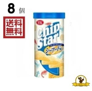 YBC チップスターS シーフード味 50gx8個
