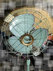 ビンテージ三菱扇風機