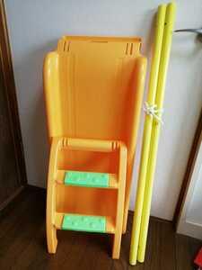 アンパンマン ブランコパークDX ジャングルジム ★付属の階段ステップ 滑り台 支柱パイプ セットで! 中古 部品売り