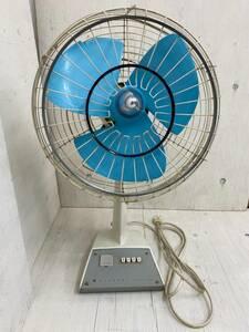 S-0007【検索:HITACHI ELECTRIC FAN 扇風機 昭和レトロ ジャンク】