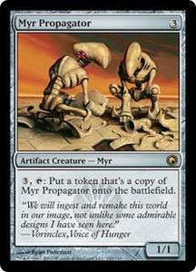 マイアの繁殖者/Myr Propagator [SOM] ミラディンの傷跡 MTG 英語 182 Y1