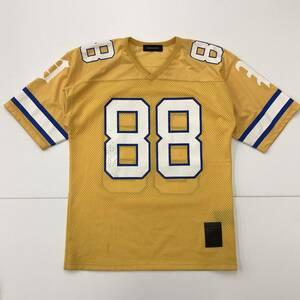 PHENOMENON フェノメノン メッシュ ゲームシャツ イエロー ビッグサイズ フットボールシャツ BIG-O オオスミタケシ 1070254