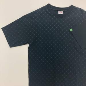 レア 初期 GOOD ENOUGH GALS UK モノグラム 総柄 Tシャツ Sサイズ グッドイナフ GOODENOUGH GDEH 藤原ヒロシ 1070549