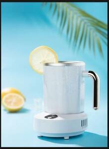 ホワイト色 カップクーラー ドリンクホルダー ー3℃~60℃ 保冷保温カップホルダー 家庭 オフィス 卓上用 保冷保温缶ホルダー ポータブ